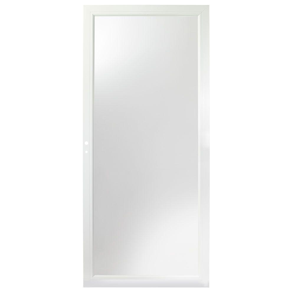 34-inch W 3000 Series Self-Storing Storm Door