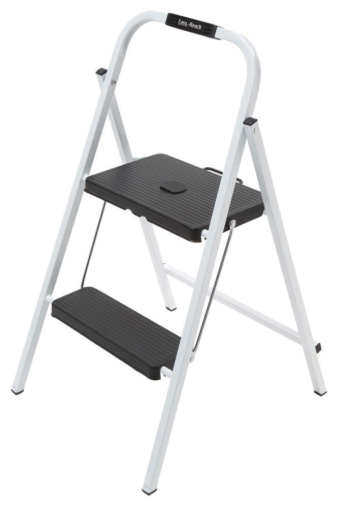 Easyreach By Gorilla Ladders 2 Step Skinny Mini Step Stool