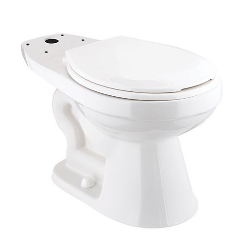 Foremost Premier Round Toilet Bowl Only in White