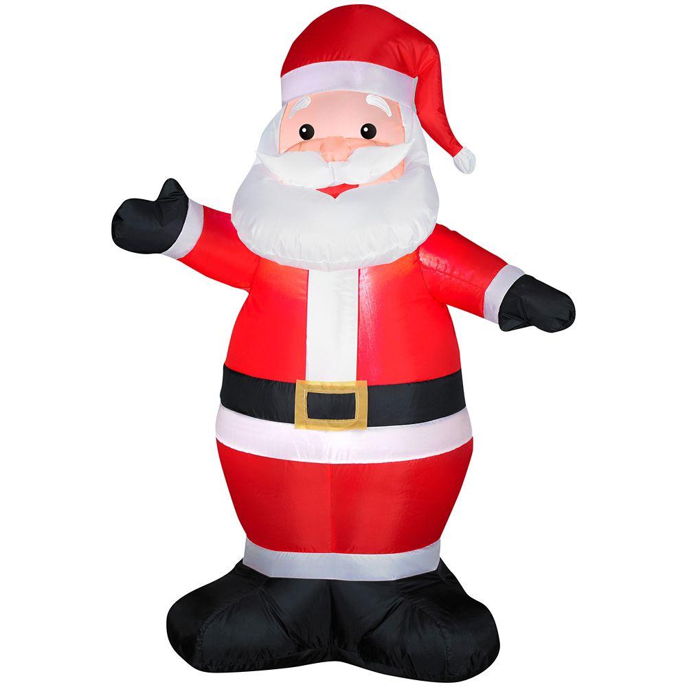 Père Noël gonflable de 1,20 m