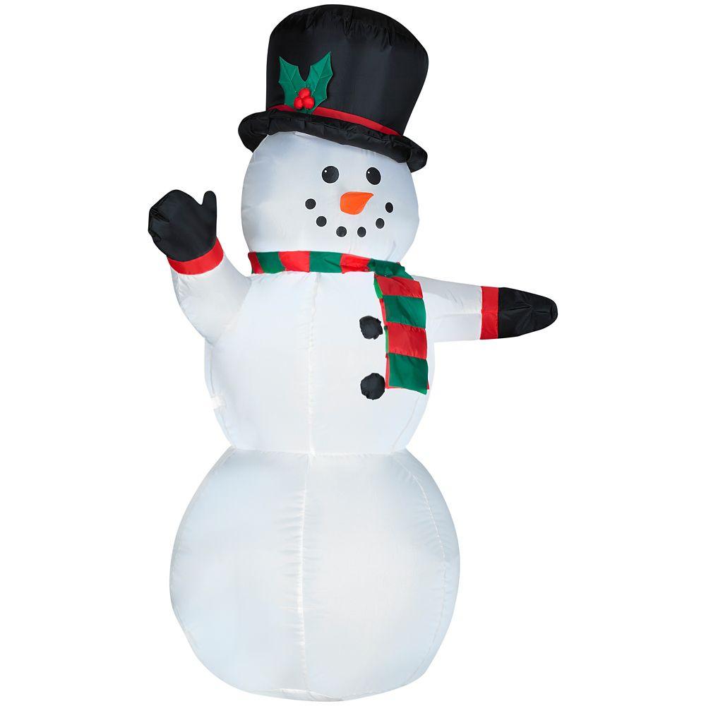 Bonhomme de neige gonflable de 1,20 m