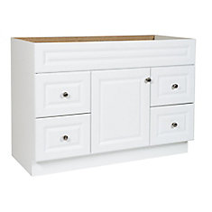 48 in White Hampton Vanity