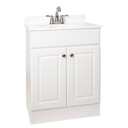 Ensemble meuble-lavabo 24 po