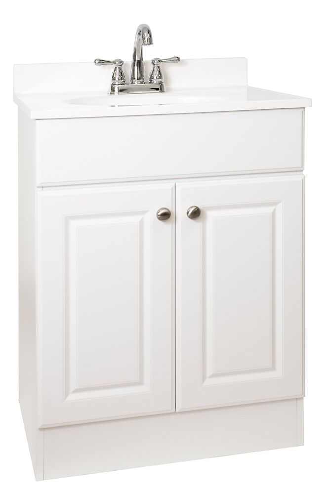 bathroom vanity sets the home depot canada. Black Bedroom Furniture Sets. Home Design Ideas