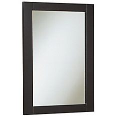 18 inch W Peython Mirror - Dark Chocolate