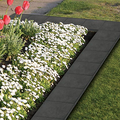Ecotrend Stomp Stone 12-inch x 12-inch Slate Paver   The Home Depot ...