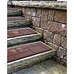 Ecotrend 10x24 Inch Cobblestone TC Stair Tread (2-Pack)
