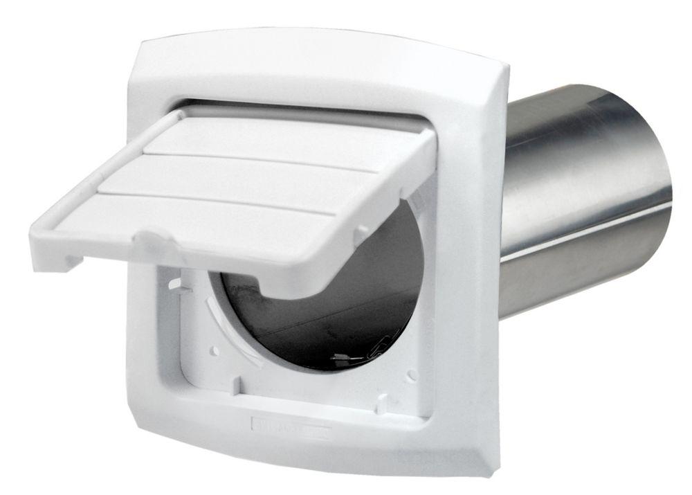 EZ Access hotte d'évacuation d'air du sèche-linge, blanc, 4 po