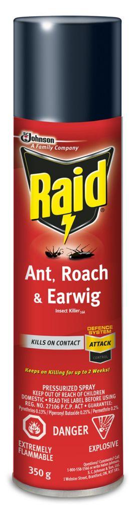 Insecticide contre fourmis, coquerelles et perce-oreilles 350g
