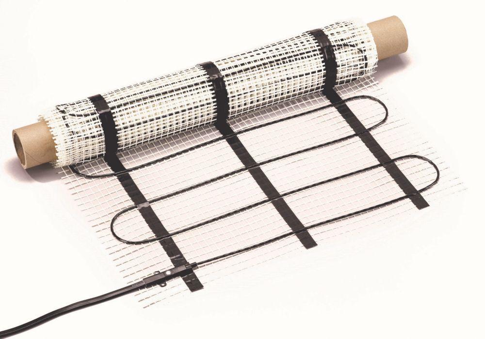120V Floor Heating Mat - Covers 40 Square Feet