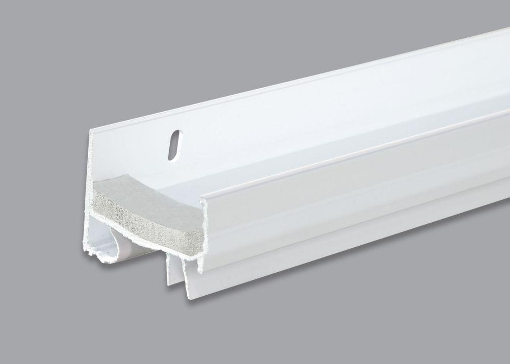 White Vinyl Door Sweep 91Cm