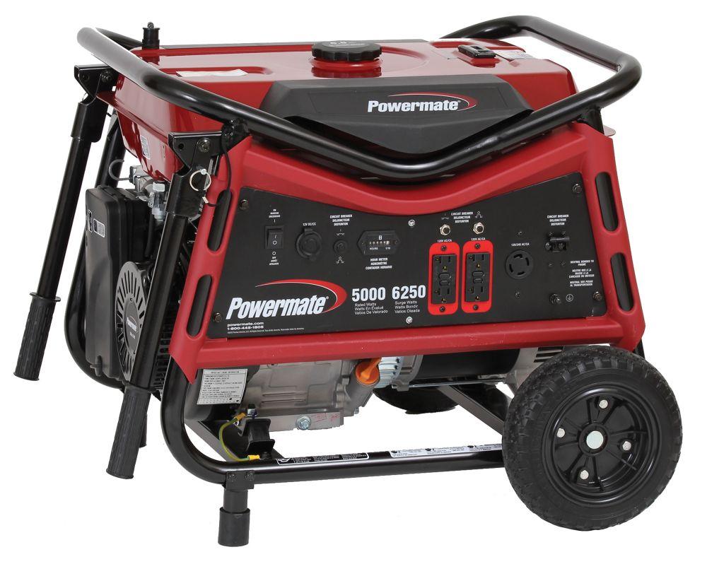 Powermate 5000 Watt Portable Generator