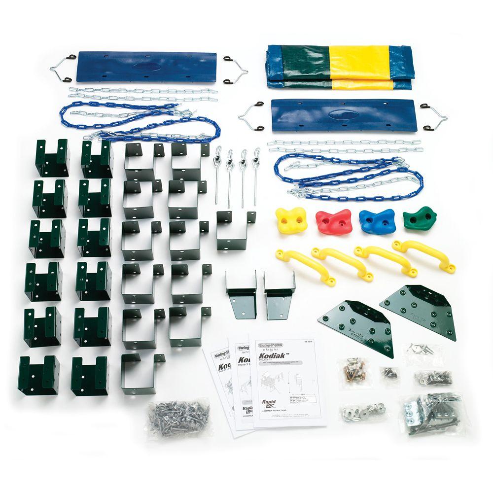 Kodiak Custom Do-It-Yourself Play Set