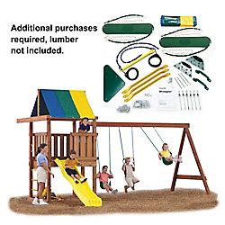 Swing-N-Slide Wrangler Custom Do-It-Yourself Playset