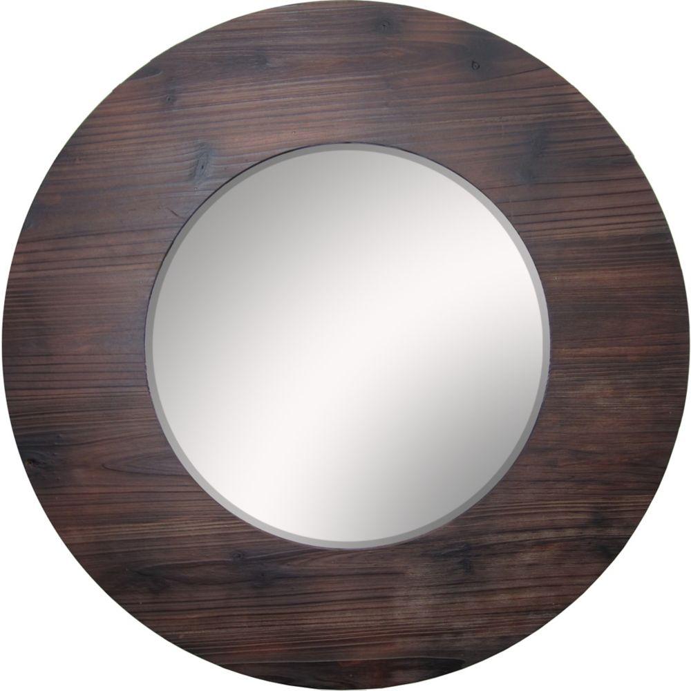 Miroir rond Muskoka