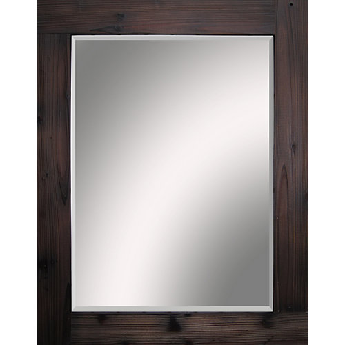 Wood Evolution Mirror