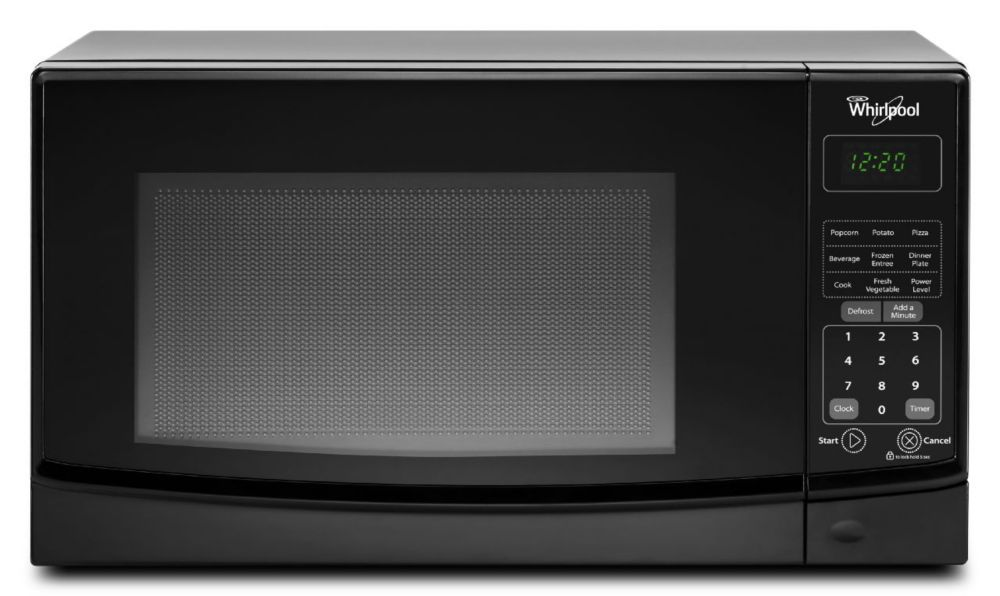 0.7 cu. ft. Countertop Microwave with Electronic Touch Controls in Black