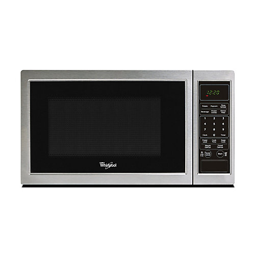 0.9 cu. ft. Countertop Microwave in Stainless Steel