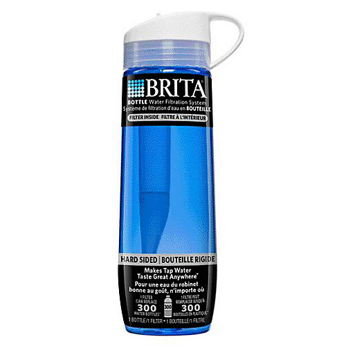 Hard Sided Bottle Blue