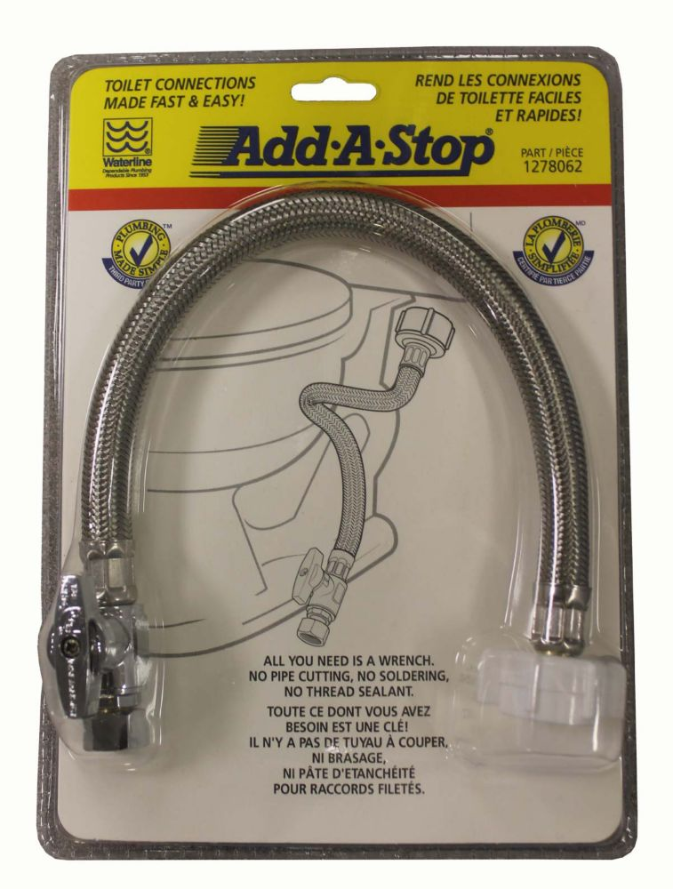 Add-A-Stop Toilet Connection Kit