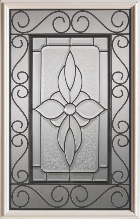 Demi-verre decoratif