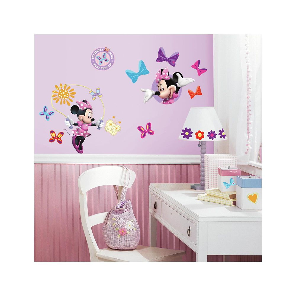 Disney-Minnie Bow-Tique Peel & Stick Wall Decals