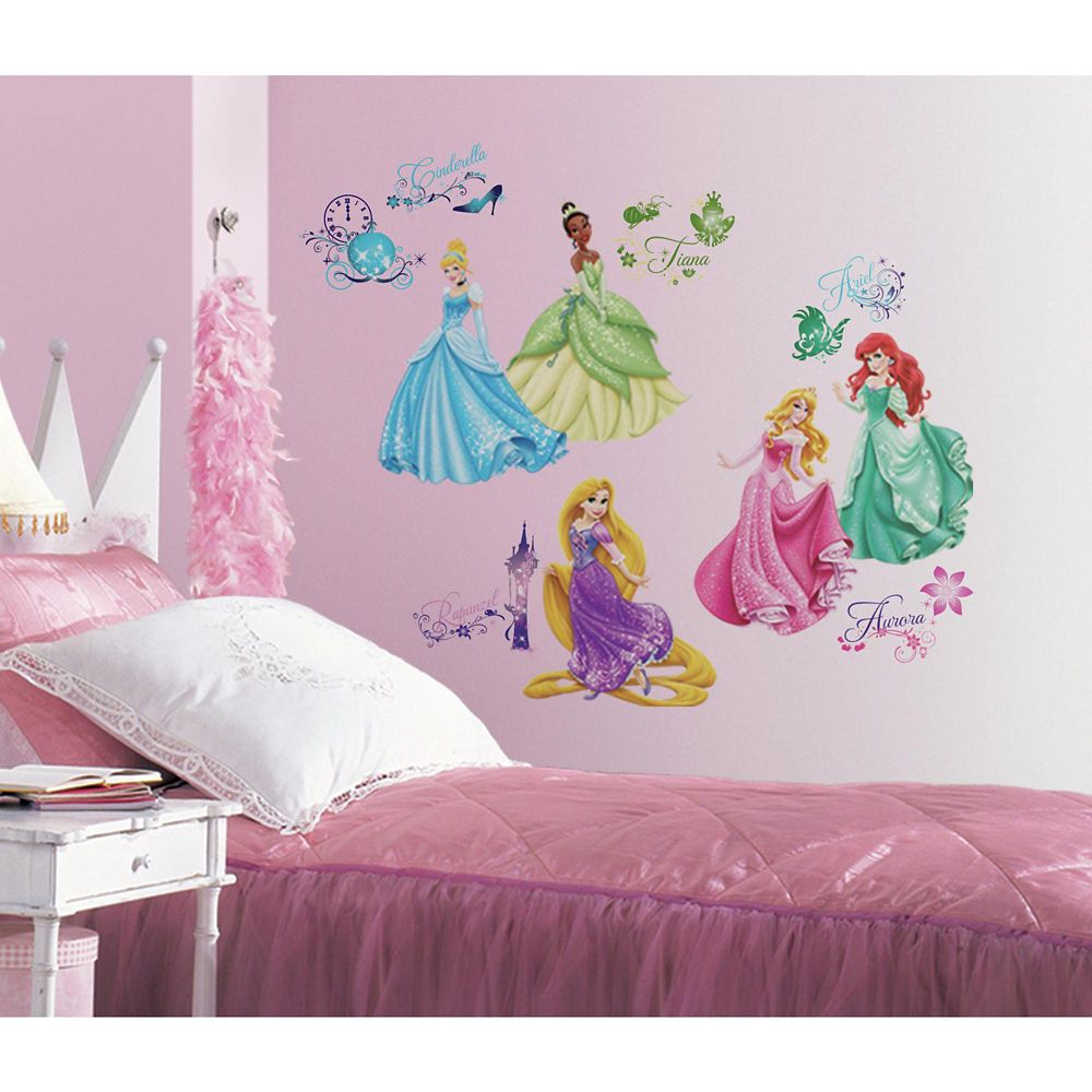 Disney Princess - Royal Debut Peel and Stick Wall Decals