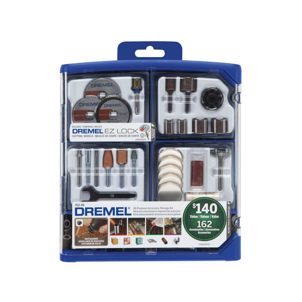 160�Piece All-Purpose Tool Accessory Kit