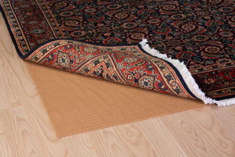 Trafficmaster Non Slip Rug Pad 2x4 Ultra The Home Depot