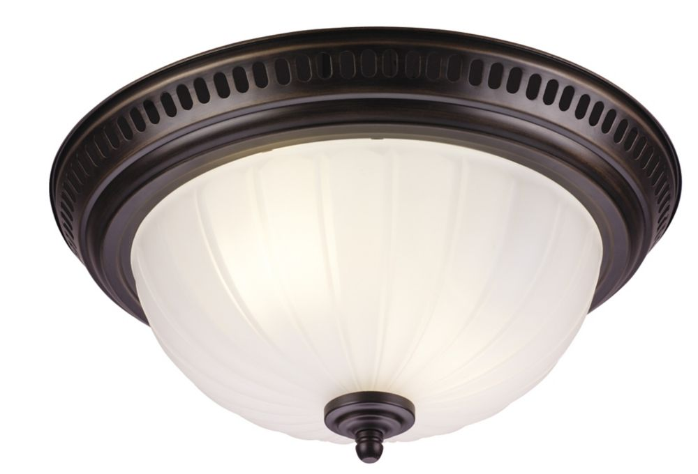 Designer Series - Decorative Oil-Rubbed Bronze Fan - 70 CFM