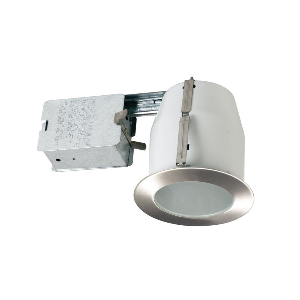 Satin Nickel Shower Trim Kit