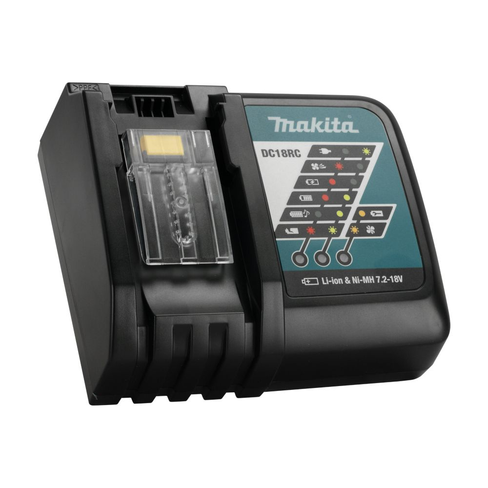 Makita 18 Volt Lithium Ion Rapid Optimum Battery Charger The Home Depot Canada