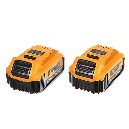 20V MAX XR Lithium-Ion Premium Premium Battery Pack 4.0Ah (2-Pack)