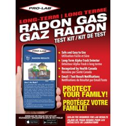 PRO-LAB PRO-LAB Long Term Radon Gas