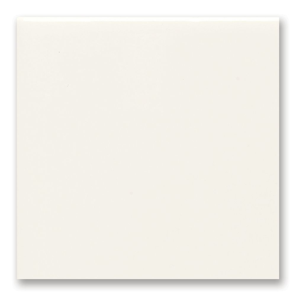 4-inch x 4-inch Field Tile in White