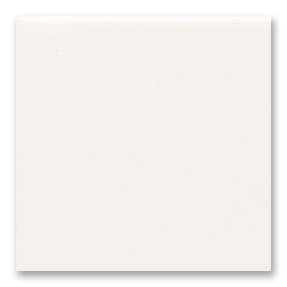 4-inch x 4-inch Field Tile in White