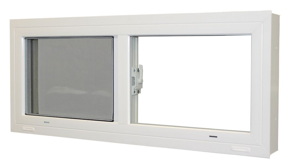 Farley windows fen tre coulissante pour sous sol po for Installer fenetre sous sol