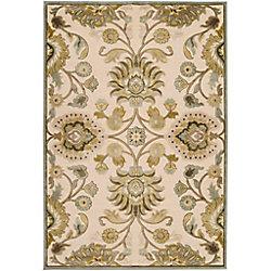 Artistic Weavers Carpette d'intérieur, 8 pi 8 po x 12 pi, style transitionnel, rectangulaire, blanc cassé Lauren