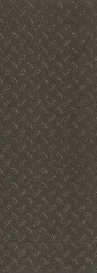 Pi. carré aux de revêtement de sol en vinyle Allure Commerciale 12 po x 36 po � Noir avec relief ...