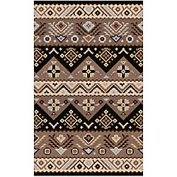 Artistic Weavers Carpette d'intérieur, 9 pi x 12 pi, style contemporain, rectangulaire, brun Dillon