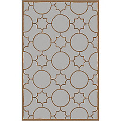 Artistic Weavers Oscar Grey 5 ft. x 7 ft. 9-inch Indoor Transitional Rectangular Area Rug