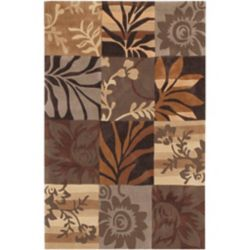 Artistic Weavers Equinox Brown 3 ft. 6-inch x 5 ft. 6-inch Indoor Contemporary Rectangular Area Rug