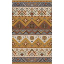 Artistic Weavers Dillon Gold 5 ft. x 7 ft. 9-inch Indoor Contemporary Rectangular Area Rug