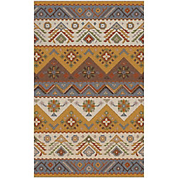 Artistic Weavers Dillon Gold 8 ft. x 10 ft. Indoor Contemporary Rectangular Area Rug