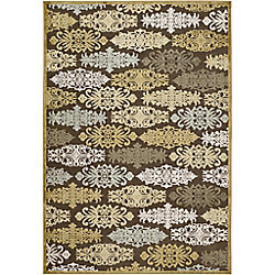 Artistic Weavers Cynthia Gold 5 ft. 1-inch x 7 ft. 6-inch Indoor Transitional Rectangular Area Rug