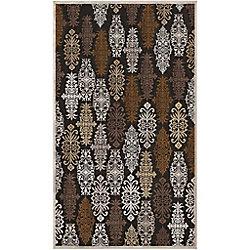 Artistic Weavers Carpette d'intérieur, 5 pi 1 po x 7 pi 6 po, style transitionnel, rectangulaire, brun Cynthia