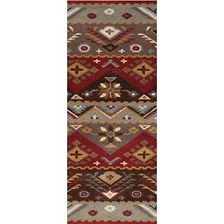 Artistic Weavers Dillon Red 2 ft. 6-inch x 8 ft. Indoor Contemporary Runner