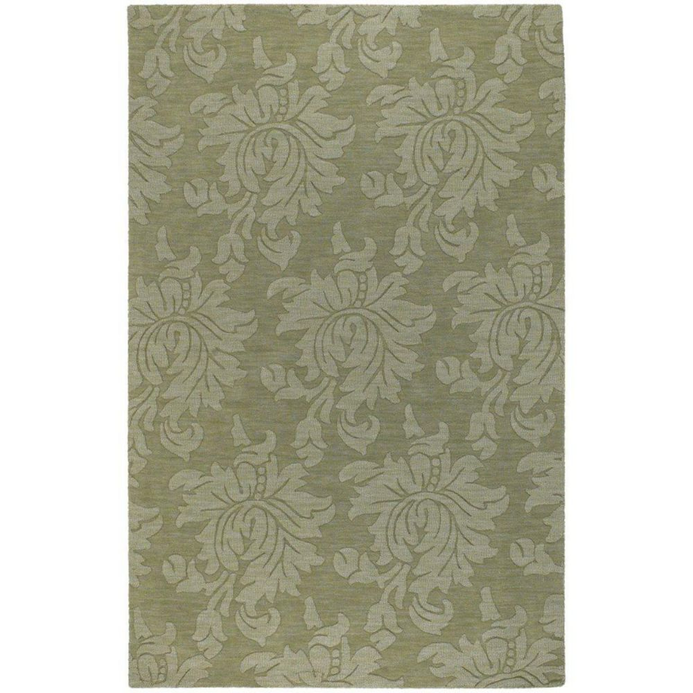 Sofia Sage Wool 8 Ft. x 10 Ft. Area Rug