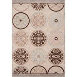 Artistic Weavers Carpette d'intérieur, 7 pi 6 po x 10 pi 6 po, style transitionnel, rectangulaire, havane Clay
