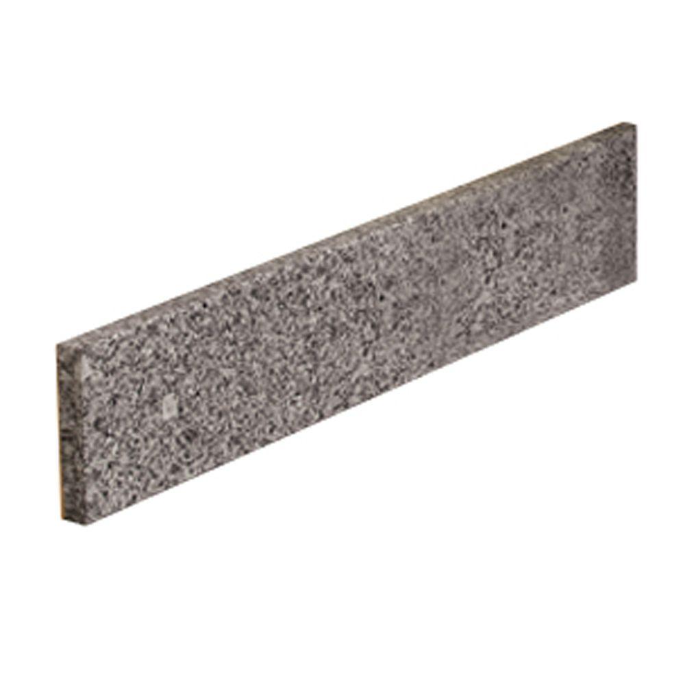 Dosseret latéral de 48,2 CM (17 PO) en granit Napoli